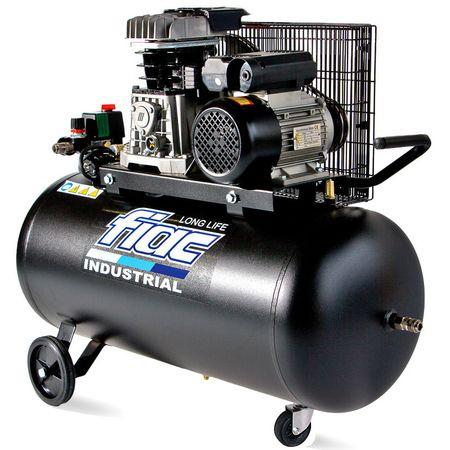 Compresor cu piston FIAC INDUSTRIAL Italy, AB100-3MC LONG LIFE, 220V, rezervor 100l, debit 270l/min, 10bar 0