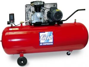 Compresor cu piston FIAC profesional, tip AB200/410MC, alimentare 220V, rezervor 200l, debit 410l/min, 10bar 0