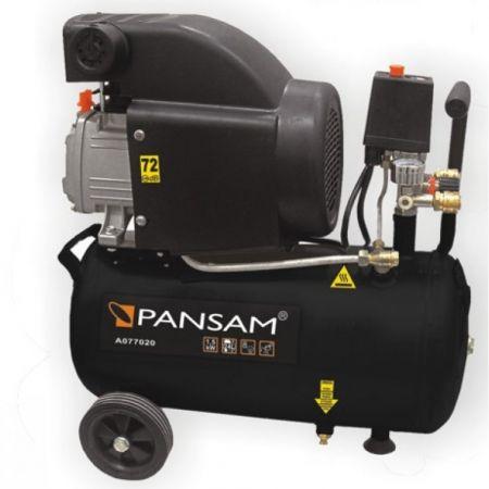 Compresor de aer PANSAM 24L, 8 bar, 200 L/min, 1500W [0]