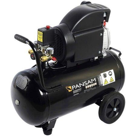 Compresor de aer PANSAM 50L, 8 bar, 1 cilindru, 200 L/min 0