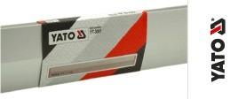 Dreptar Trapezoidal YATO, Aluminiu, 2500mm 1