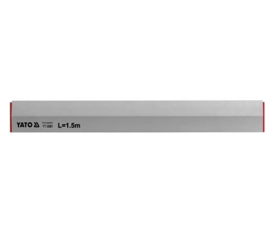Dreptar Trapezoidal YATO, Aluminiu, 2500mm 0