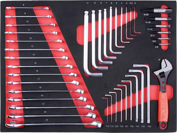 Dulap Scule Profesional YATO, 7 Sertare, Echipat 211 Piese 5