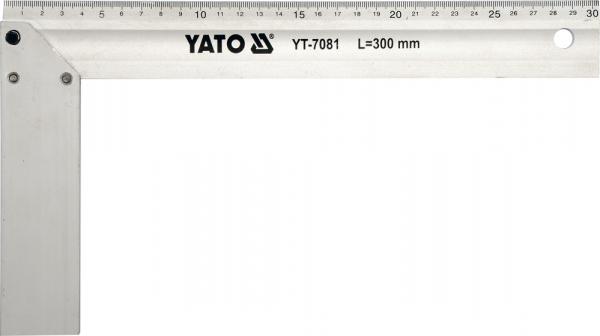 Echer de Tamplarie YATO, Aluminiu, 250mm 0