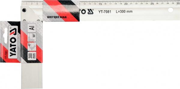 Echer de Tamplarie YATO, Aluminiu, 250mm 1