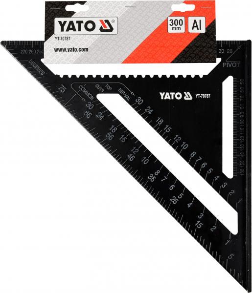 Echer Multifunctional YATO, Aluminiu, 300mm 2