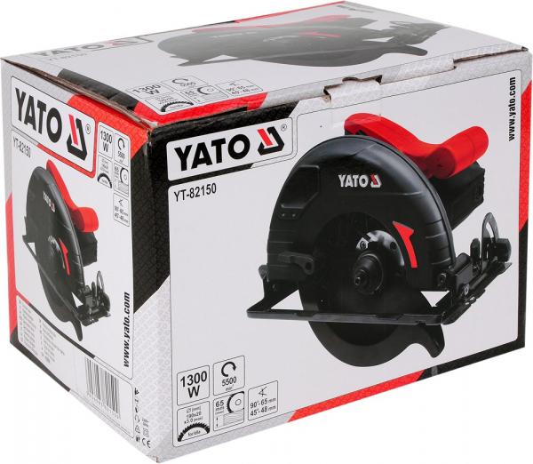 Fierastrau circular YATO, 1300W, 190mm 5