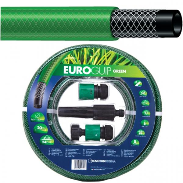 Furtun apa EURO GUIP, kit 4 accesorii, 1/2, 20m 0