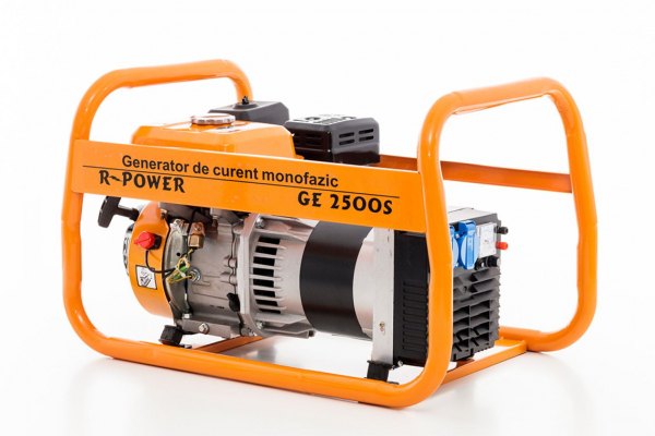Generator de putere RURIS, R-Power GE2500S, 2500W, benzina, 7CP 0