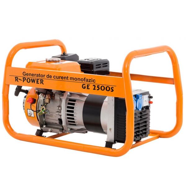 Generator de putere RURIS, R-Power GE2500S, 2500W, benzina, 7CP 3