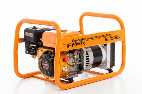 Generator de putere RURIS, R-Power GE2500S, 2500W, benzina, 7CP 2