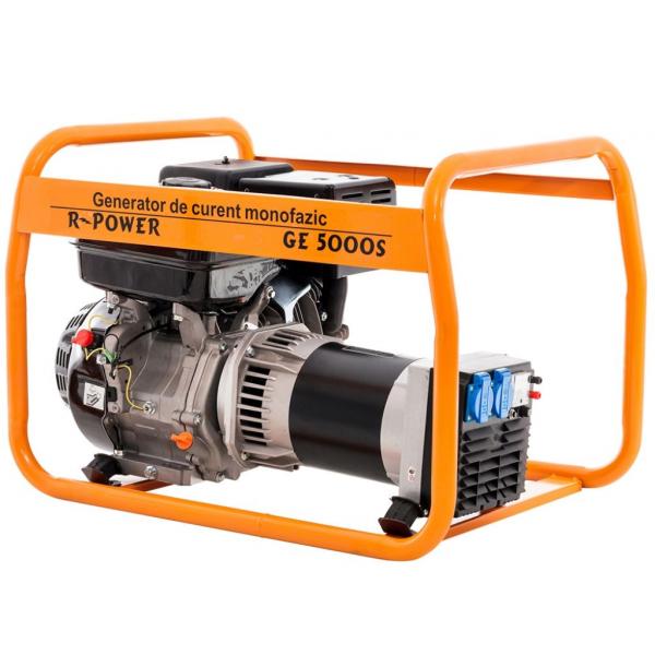 Generator de putere RURIS, R-Power GE5000S, 5000W, benzina, 13CP 3