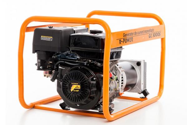 Generator de putere RURIS, R-Power GE5000S, 5000W, benzina, 13CP 2