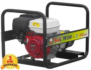 Generator pe Benzina TEHNIK, Monofazat, tip TM 2501, 2.2 kVA 0