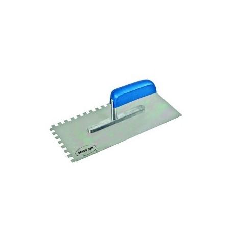 Gletiera cu dinti VENUS DSH, inox, 280X130mm, 10X10mm 0