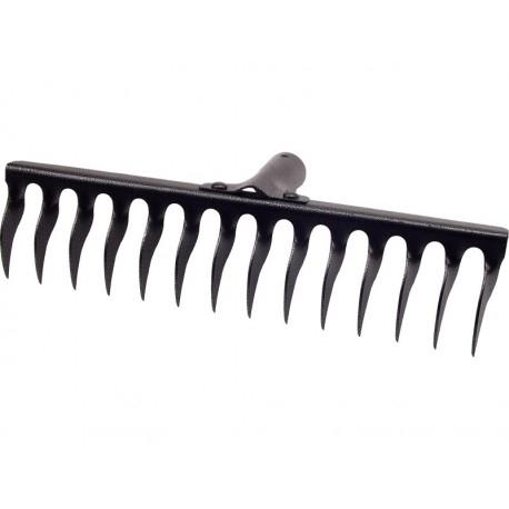 Grebla 14 dinti rasuciti VENUS DSH, fara coada, latime 370mm 0