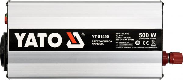 Invertor Tensiune YATO, 500W 1