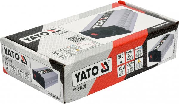Invertor Tensiune YATO, 500W 4