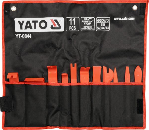 Kit Demontare YATO, Pentru Tapiterie Auto, 11buc 0