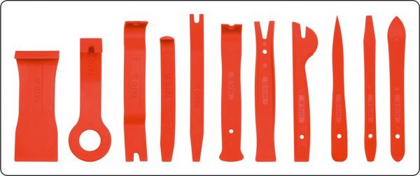 Kit Demontare YATO, Pentru Tapiterie Auto, 11buc 1