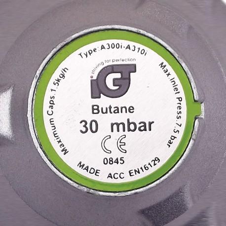 Kit VENUS DSH, pentru butelie gaz, Regulator presiune + Furtun 1.5m + 2 Coliere 2
