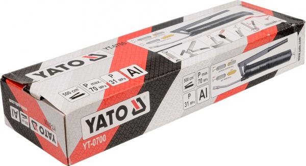 Masina de Gresat YATO, cu Furtun Rigid, 500ml 2