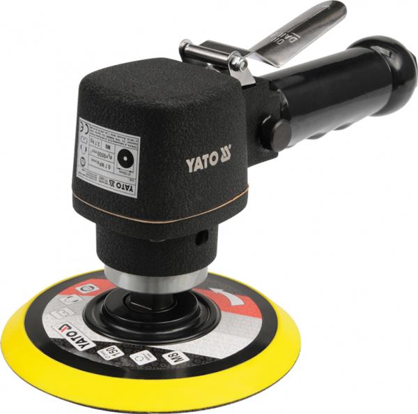 Masina de Slefuit Pneumatica YATO, 150mm, 9000 rpm, 230 l/min [0]