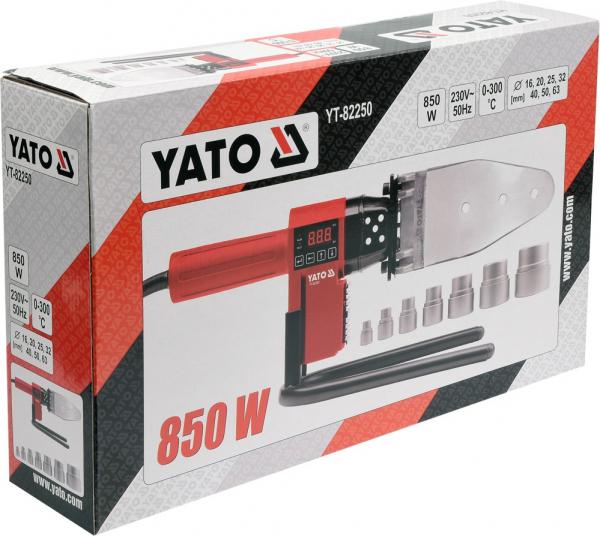 Masina de sudat termoplastice YATO, 0-300 °C,  850W 2