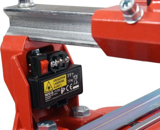 Masina de Taiat Gresie si Faianta YATO, cu Laser, Lungime de Taiere 800mm [2]