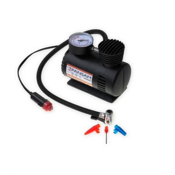 Mini compresor auto PANSAM,12 V,18 bari 0