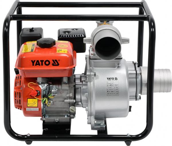 Motopompa pe benzina YATO, 1300 l/min, 5.7kW, 4 Inch 0