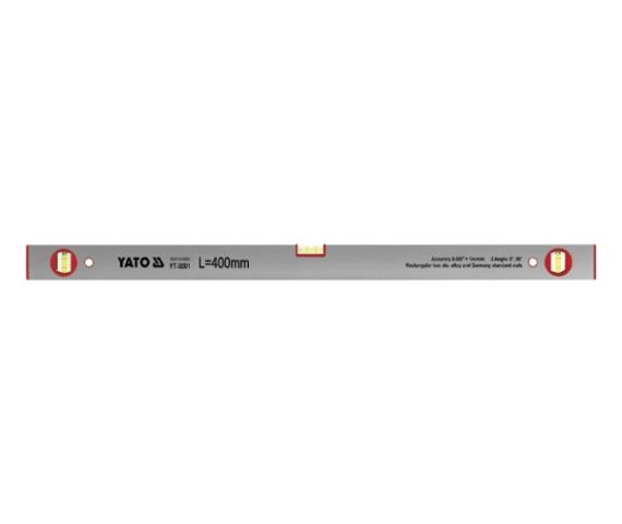 Nivela Aluminiu YATO, 3 Bule, 600mm 0