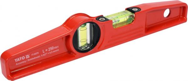 Nivela Magnetica YATO, 250mm, 2 Bule 1