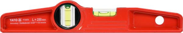 Nivela Magnetica YATO, 250mm, 2 Bule 0