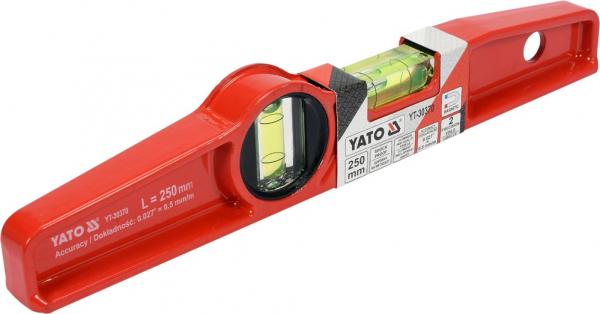 Nivela Magnetica YATO, 250mm, 2 Bule 3
