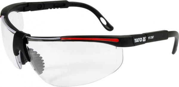 Ochelari de protectie YATO, brate reglabile, protectie UV 0