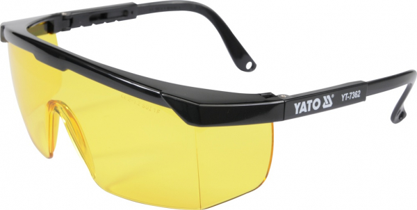 Ochelari de protectie YATO, lentila galbena, protectie UV [0]