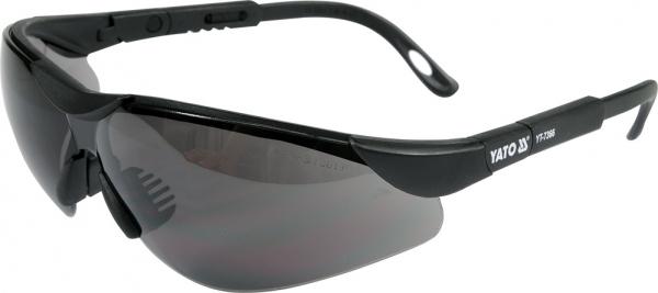 Ochelari de protectie YATO, lentila neagra, protectie UV, plastic 0