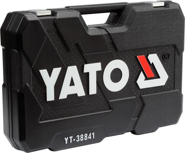 Pachet YATO, Trusa scule profesionala, 216buc + Set imbus canelate, 40buc 6