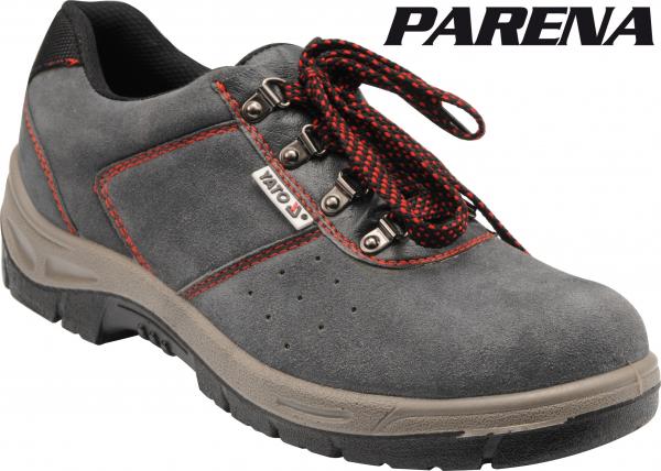 Pantofi de protectie YATO piele, 200J, gri 1