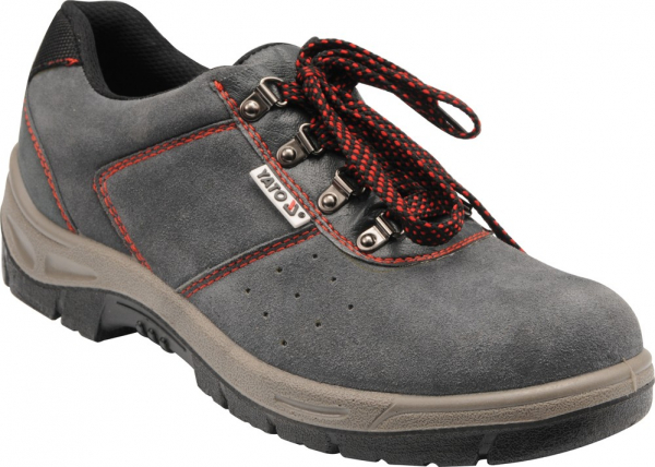 Pantofi de protectie YATO piele, 200J, gri 0