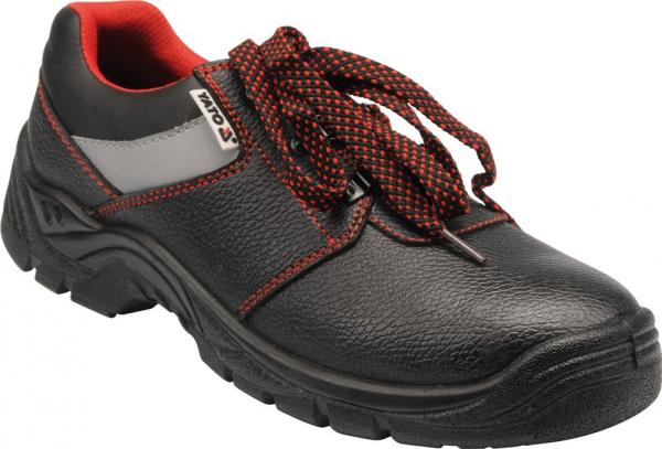 Pantofi de protectie YATO piele, PIURA S3, 200J gri [0]