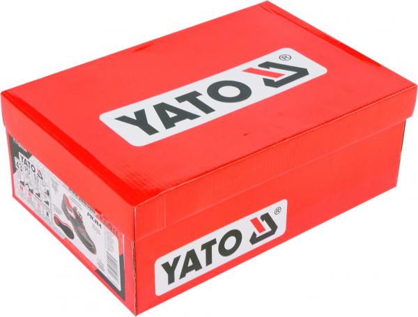 Pantofi de protectie YATO piele, PIURA S3, 200J gri [2]