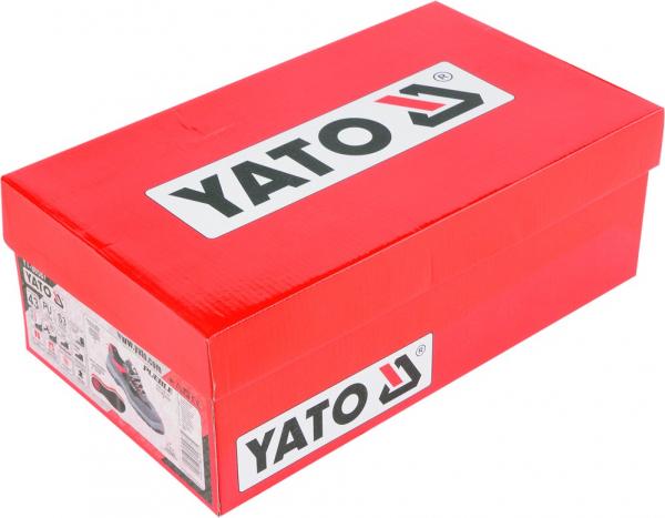 Pantofi de protectie YATO piele S3, 200J, gri 1