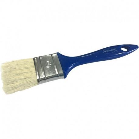 Pensula cu fir natural VENUS DSH, maner plastic, albastru, 40mm 0