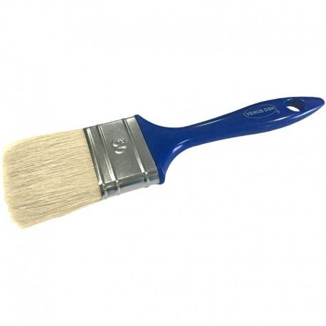 Pensula cu fir natural VENUS DSH, maner plastic, albastru, 50mm 0