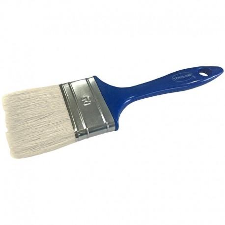 Pensula cu fir natural VENUS DSH, maner plastic, albastru, 60mm 0