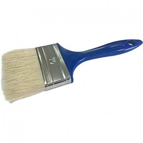 Pensula cu fir natural VENUS DSH, maner plastic, albastru, 70mm 0