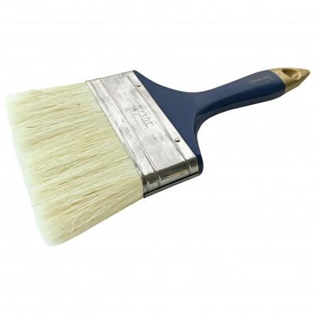 Pensula cu fir natural VENUS DSH, maner plastic, albastru/auriu, 100mm 0