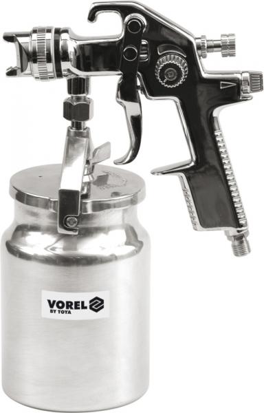 Pistol de Vopsit VOREL, rezervor metalic, 1l 0